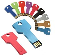 16GB Key Shaped Metal USB Flash Drives