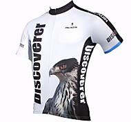 Uomo PaladinSport Aquila primavera e l'estate di stile 100% poliestere Maniche corte ciclismo maglia