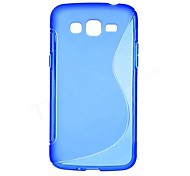 Para Funda Samsung Galaxy Other Funda Cubierta Trasera Funda Un Color TPU Samsung S5 Mini / Grand 2