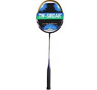 oro Sirdar&blu fibra di carbonio racchetta da badminton