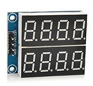 "Digital 5V 0.36"" 2-Channel 4-Digit Seven-Segment Display Module"