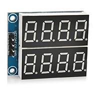 """5v digitales 0.36 Módulo display de siete segmentos """"de 2 canales 4 dígitos"""