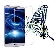 профессиональный высокая прозрачность ЖК ясна экран протектор с очистки ткани для LG G2