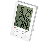 termômetro com umidade&alarme ℃ / ℉ kt-903