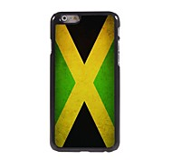 Vintage The Flag of Jamaica Pattern Aluminum Hard Case for iPhone 6