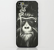 fumar caso duro del patrón de orangután para el iphone 6