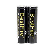 bestfire18650 3.7v 2000mah batteria ricaricabile