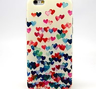 Love Dancing Pattern TPU Soft Case for iPhone 6