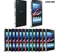 Love Mei Ultrathin Alloy Bumper Curved Edge Metal Case Cover for SONY Xperia Z1(Assorted Colors)