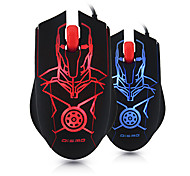 Dismo M39 Optical Luminous USB Wired Gaming Mouse 1600DPI