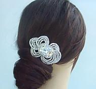 alla moda di cristallo del rhinestone della lega copricapo da sposa capelli pettine da sposa delle donne