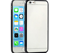 Toophone® JOYLAND TPU+PC Candy Color Bumper Frosted Transparent Back Case for iPhone 6  (Assorted Color)