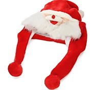 Soft Warm Plush Cartoon Santa Claus Hat Cap for Christmas