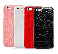Alligator Grain Pattern Design PC Hard Case for iPhone 6 (Assorted Colors)