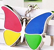 Fashion Alloy Multicolored Butterfly Keychain