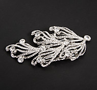 Silver Platinum Plating Phoenix-tailed Wedding Headpieces