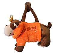 Monkey Design Plush Toys Soft Hand Bag(Random Color)