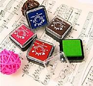5 pcs em 1 a magia da cor inkpad (cor aleatória)