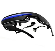 """IVS 50"""" Portable MP4 Video Glasses Virtual Mobile Theatre 4GB for Movie Wathcing, Ebook and Music"""