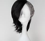 Tóquio vampiro uta fabricante de máscara preta curta reta com prateado cor cinza anime peruca cosplay