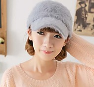 Women Faux Fur Ivy Cap , Cute Winter