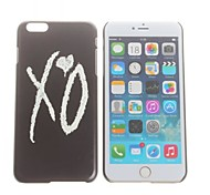 X O  Pattern Hard Back Cover for iPhone 6  Plus