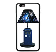 Elonbo Police Box Lamp Plastic Hard Back Cover for iPhone 6