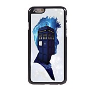 Police Box Pattern Aluminum Hard Case for iPhone 6