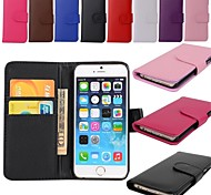 Wallet Card Holder PU Leather Case for iPhone 6s 6 Plus