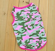 Cool Camouflage Style Cotton Vest for Pet Dogs (Assorted Sizes)