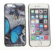 Butterfly Pattern Hard Back Cover for iPhone 6