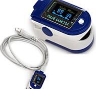bezieht sich auf die Clip-on-Oxymetrie cms50d + USB-Verbindung von Computer-Software mit Herzfrequenz-Detektor können hochgeladen werden