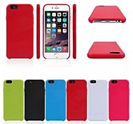 Original TPU Soft Back Cover Case for iPhone 6/6S (Assorted Colors)