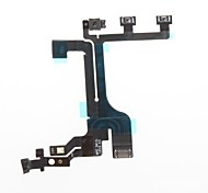Power Mute Volume Button Switch Connector Flex Cable Ribbon iphone 5C