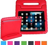 Kids Friendly Series Light Weight Super Protection Convertible Kickstand Cover Case for iPad 4/3/2 (Assorted Color)