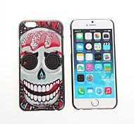 The Skeleton Plastic Hard Back Cover for iPhone 6