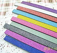 2 x 20 PCS  Glitter Powder Lucky Star Origami Materials (Random Color)