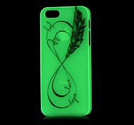 Infinity Pattern Glow in the Dark Hard Case for iPhone 5/5S