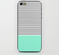Horizontal Stripes Pattern hard Case for iPhone 6