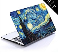 Vortex Mural Design Full-Body Protective Plastic Case for 11-inch/13-inch New MacBook Air