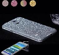 glänzende Diamant-Pulver Design Ganzkörper-Schutzfolie für Samsung Galaxy i9600 s5 (farblich sortiert)