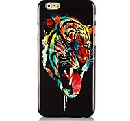 Tiger Head Pattern Hard Back Case for iPhone 6