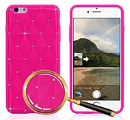 All Over the Sky Star Pattern Silicone Case for iPhone 6 (Assorted Colors)