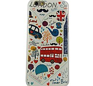 Painting Pattern Plastic Hard Back Cover for iPhone 6