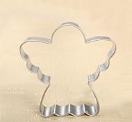 Форма для выпечки, из нержавеющей стали, L 7.4cm х Ш 7.3cm х 2 см