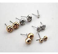The Spherical 6 Pair Earrings