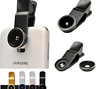 Universal Clip 0.4X Super Wide Add-on Macro Lens for Samsung S3/S4/S5/Note4/N9000 and Other Cellphones(Assorted Colors)