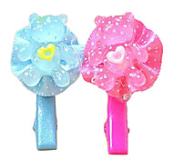 Lovely Teddy Bear Pattern Hair Accessories for Pets Dogs