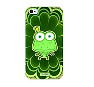 Frog Pattern Back Case for iPhone 4/4S