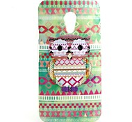 Fat Cat Pattern TPU Soft Cover for Motorola Moto G2